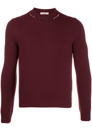 Valentino Iconic stud sweater - Red