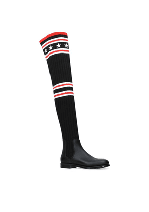 Givenchy Storm Over-The-Knee Sock Boots