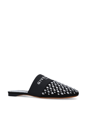 Givenchy Embellished Bedford Flat Mules