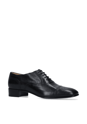 Gucci Leather Dracma Derby Shoes