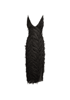 CAMILLA AND MARC Farrah Fringed Dress