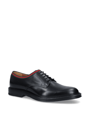 Gucci Beyond Web Trim Derby Shoes
