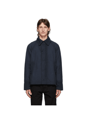 Barbour Navy Engineered Garments Edition Washed Graham Jacket