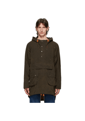 Barbour Brown Engineered Garments Edition Washed Warby Jacket