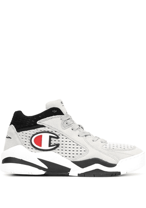Champion Zone logo high-top sneakers - Grey