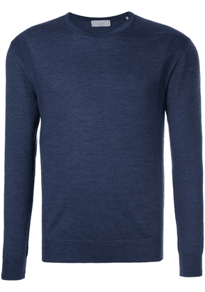 Cerruti 1881 crew neck jumper - Blue