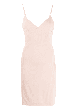 Dsquared2 sweetheart neckline mini dress - PINK