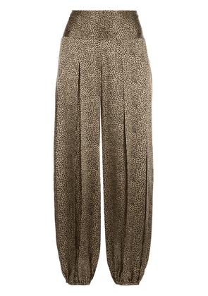 Nili Lotan Ibiza silk pants - Brown