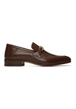 Gucci Burgundy Marmont Loafers