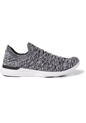 APL Athletic Propulsion Labs - Wave Techloom Running Sneakers - Gray