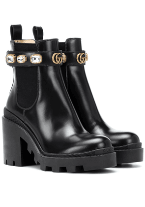 Trip leather ankle boots