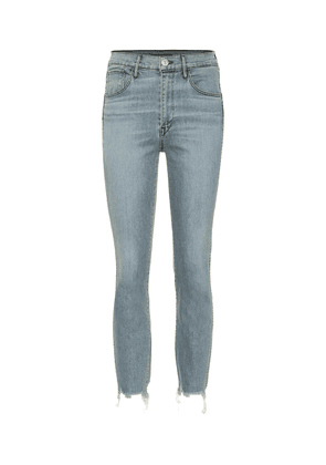 W3 Authentic cropped high-rise jeans