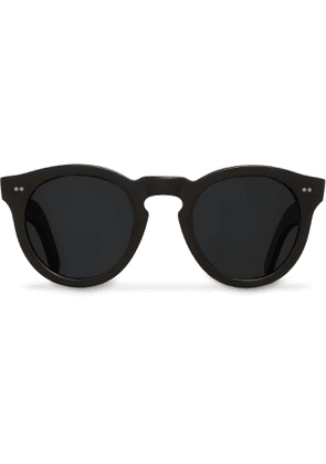 Cutler and Gross - Round-frame Acetate Sunglasses - Black