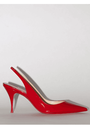 80mm Exclusive Clare Patent Leather Pump