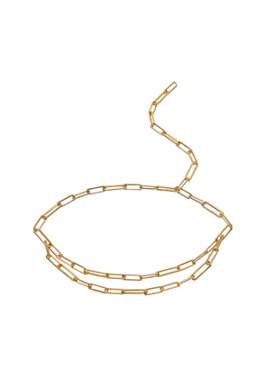 Gold Coterie Chain Belt