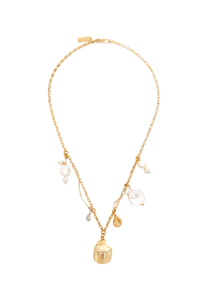 Mounser Cylone Gold-Plated Sterling Silver Charm Necklace