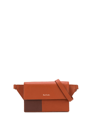 Paul Smith two tone belt bag - Brown