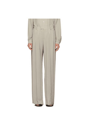 Undercover Beige Pleated Trousers