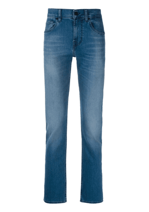 7 For All Mankind Slimmy Luxe straight-leg jeans - Blue