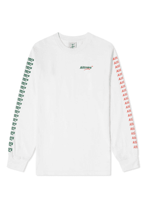 Alltimers Long Sleeve Count It Up Tee