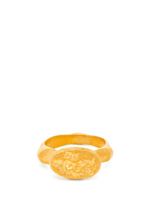 Alighieri - The Odyssey 24kt Gold-plated Ring - Mens - Gold