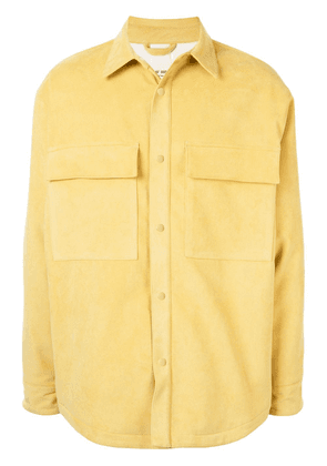 Fear Of God chest pockets shirt jacket - Yellow