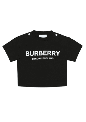Baby logo cotton-jersey T-shirt