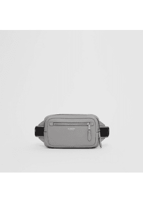 Burberry Grainy Leather Bum Bag, Grey
