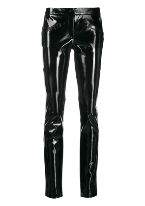 Barbara Bui patent skinny trousers - Black