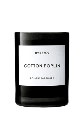 240gr Cotton Poplin Scented Candle