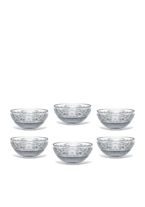 Baccarat Arabesque Crystal Dessert Bowls (Set of 6)