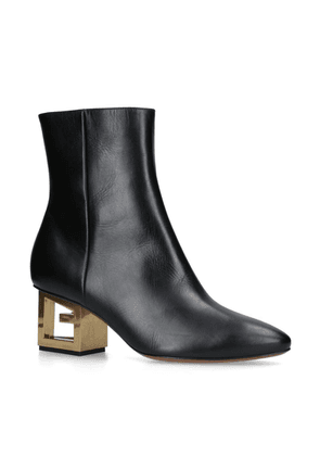 Givenchy Leather G Boots 60