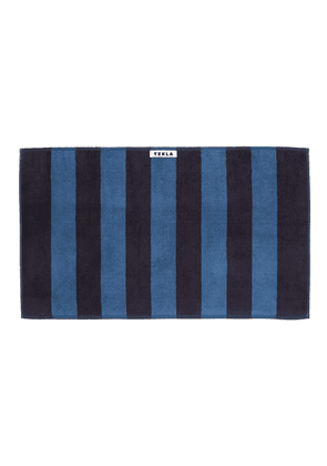 Organic Cotton Guest Towel - Dusty Navy