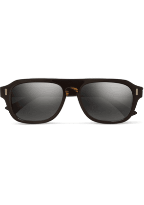 Cutler and Gross - D-frame Acetate Sunglasses - Black