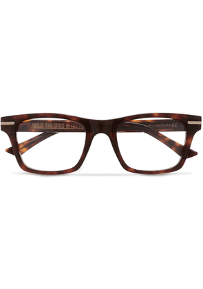 Cutler and Gross - Square-frame Tortoiseshell Acetate Optical Glasses - Tortoiseshell