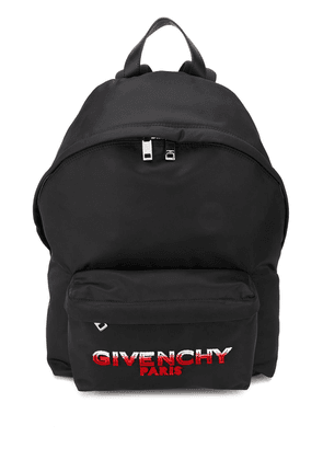 Givenchy logo patch backpack - Black