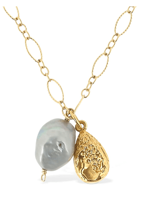 Solitary Tear At Dusk Necklace