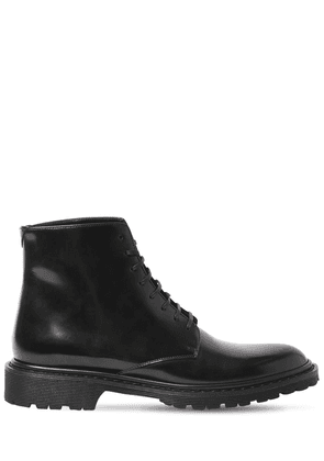 30mm Army Brushed Leather Boots
