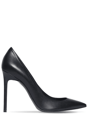 105mm Ania Leather Pumps