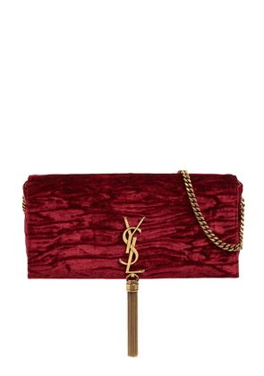 Kate 99 Velvet Bag W/ Tassel