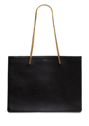 Shopping Chic Leather Tote Bag
