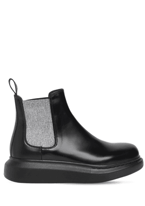 45mm Hybrid Leather Chelsea Boots