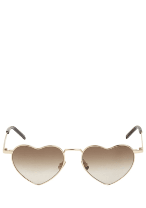 Sl 301 Loulou Heart Metal Sunglasses