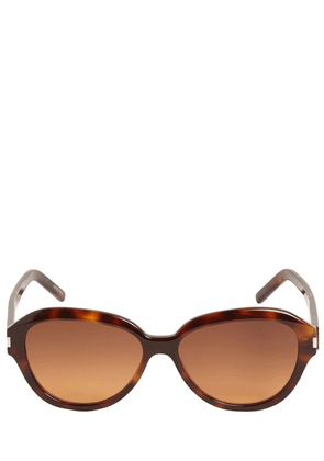 Sl 400 Round Acetate Sunglasses