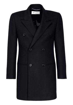 Double Breast Wool & Cashmere Coat