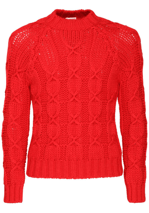 Laine Knit Wool Blend Sweater