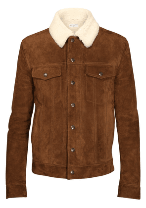 Suede & Shearling Jacket