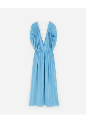 Stella McCartney Blue Monica Maxi Dress, Women's, Size 6