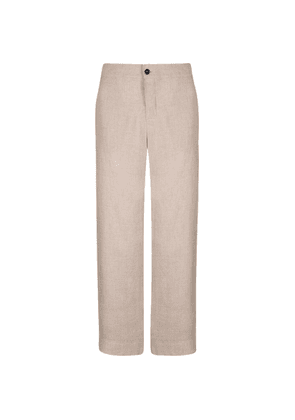 Asceno Linen Pyjama Bottoms