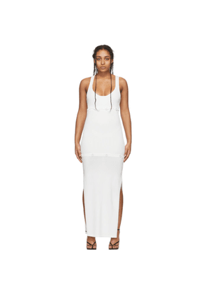 Christopher Esber White Deconstructed Tank Dress